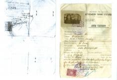 'Αδεια η οποία επιτρέπει το ταξίδι από την Κρήτη στην Αθήνα